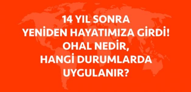 Türkiye'nin Kilitlendiği OHAL Nedir? Hangi Durumlarda Uygulanır? İşte Cevabı