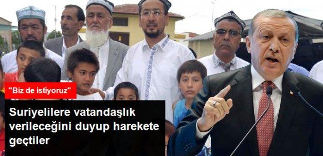 Türkiye'de Yaşayan Dogu Türkistanlılar da Vatandaşlık İstiyor