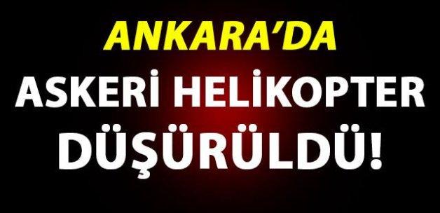TÜRKSAT'ı bombalayan askeri helikopter düşürüldü