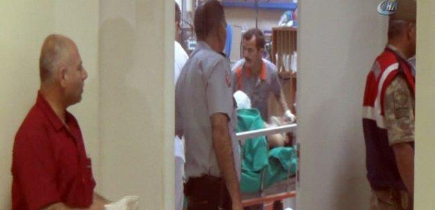 Yaralı pilot Sivas'ta tedavi altına alındı