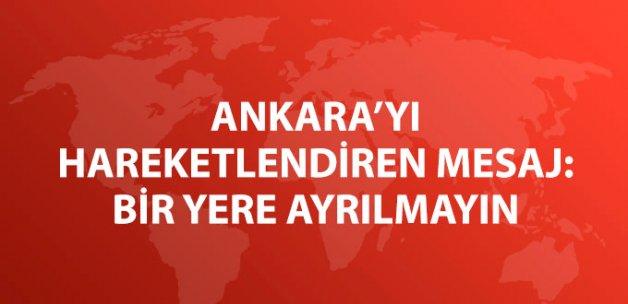 Yargıtay 516 Üyeye Mesaj attı: Ankara'dan Ayrılmayın