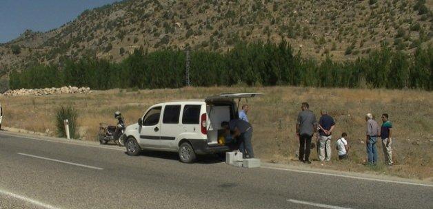 Yol kenarında suikast silahı ve 2 adet şarjör bulundu