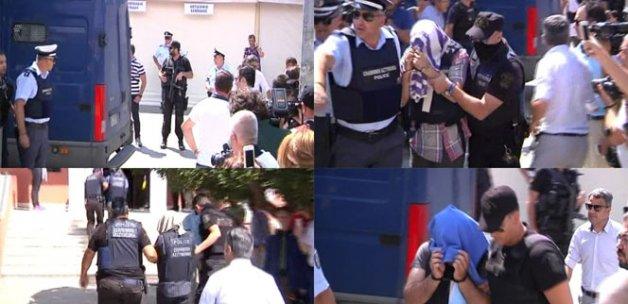 Yunanistan'a kaçan hainler yine hakim karşısına çıktı