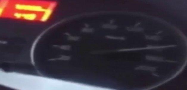 170 kilometrelik hız denemesi sonları oldu