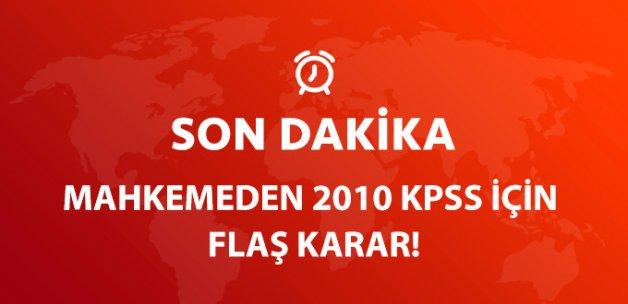 """2010 KPSS'nin """"Genel Yetenek ve Genel Kültür"""" Kısmı İptal!"""