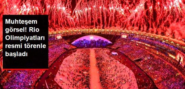 2016 Rio Olimpiyatları Resmi Törenle Başladı