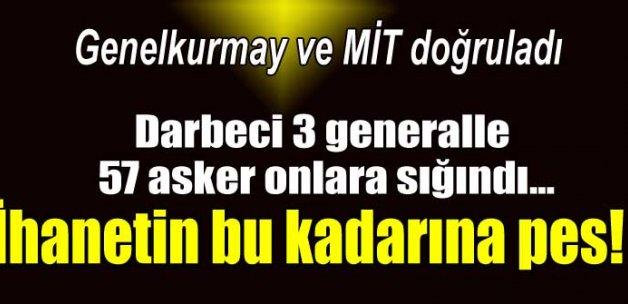 3'ü general 60 darbeci subay Kandile'e kaçıp PKK'ya sığındı