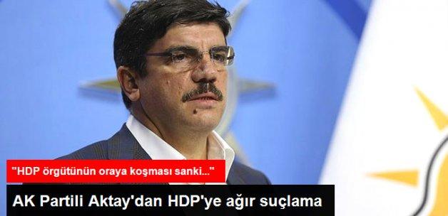 51 Kişinin Öldüğü Saldırıyla İlgili AK Partili Aktay'dan HDP'ye Ağır Suçlama
