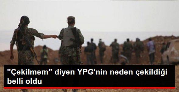 ABD Açıkladı: YPG'nin Çekilmesinin Sebebi ......