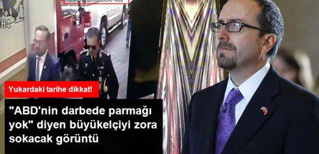 ABD Büyükelçisi Bass, Darbeci Albayla Çengelköy'de Buluşmuş