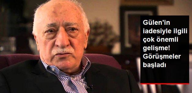 ABD Heyetiyle Gülen'in İadesi Görüşmeleri Başladı