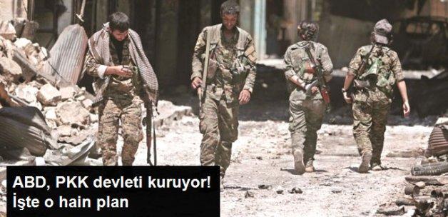 ABD, PKK Devleti Kuruyor
