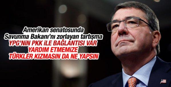 ABD Savunma Bakanı'nı zorlayan PKK-PYD itirafı