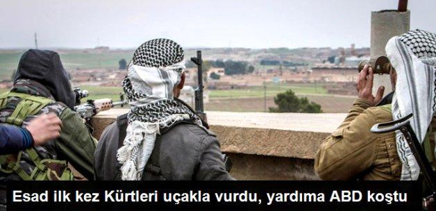 ABD, Suriye'de Kürtlere Yardım İçin Uçak Gönderdi