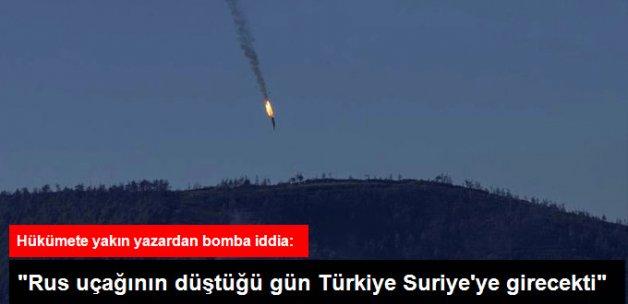 Abdülkadir Selvi: Rus Uçağının Düştüğü Gün Türkiye Suriye'ye Girecekti