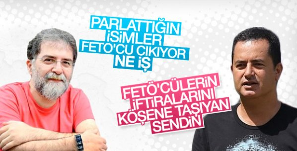 Acun, Ahmet Hakan'a fitneci dedi