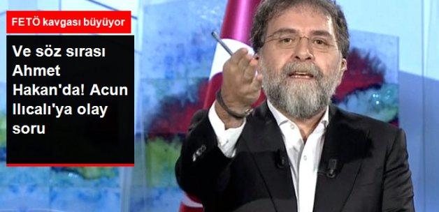 Ahmet Hakan'dan Acun'a Yanıt: Bu Ne Telaş Acun Efendi