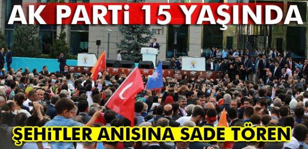 AK Parti 15 yaşında