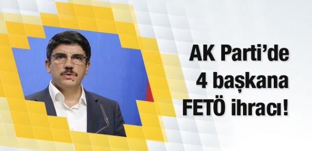 AK Parti'de 4 belediye başkanına ihraç