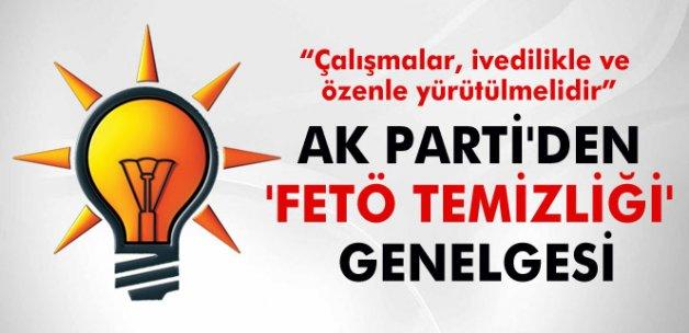 AK Parti, FETÖ temizliği için düğmeye bastı