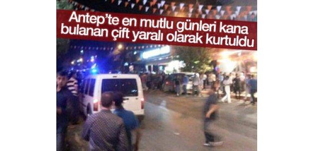 Akdoğan çifti yaralı olarak kurtuldu