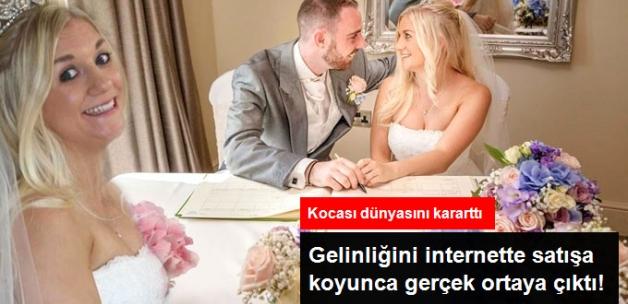 Aldatılan Kadın Boşanma Masrafları İçin Gelinliğini Satışa Çıkardı