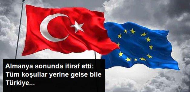 Almanya Başbakan Yardımcısı: Türkiye, 10-20 Yıl İçinde AB'ye Giremeyecek