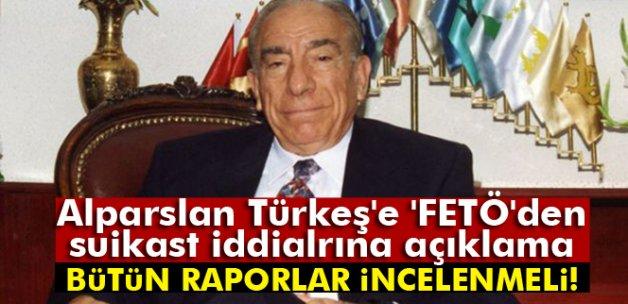 Alparslan Türkeş'e FETÖ'den suikast iddialarına yanıt