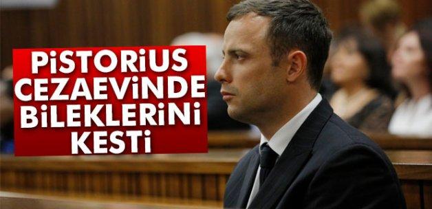 Ampute atlet Pistorius cezaevinde bileklerini kesti