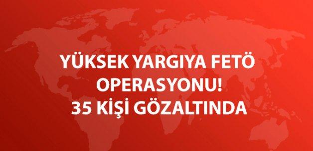 Anayasa Mahkemesi ve Yargıtay Çalışanı 35 Kişi Gözaltına Alındı