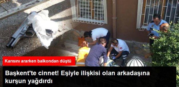 Ankara'da Bir Kişi Eşiyle İlişkisi Olduğunu Düşündüğü Arkadaşını Öldürdü