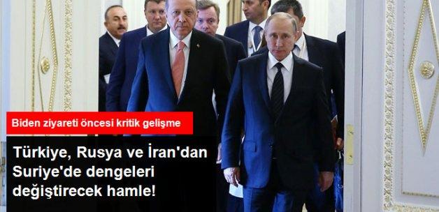 Ankara, Moskova ve Tahran Ortaklığında Suriye'de Tampon Bölge Kurulacak!