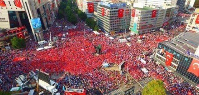 Ankara'nın 'Yenikapı'sı doldu taştı!