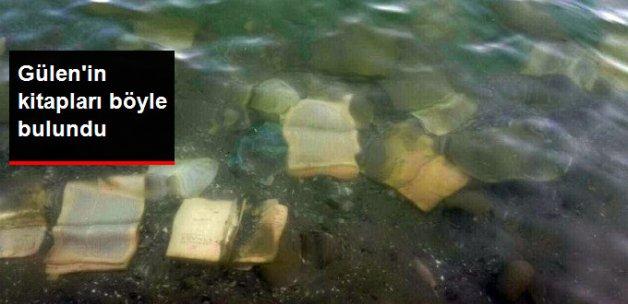 Atatürk Barajı'nda Fetullah Gülen Kitapları Bulundu