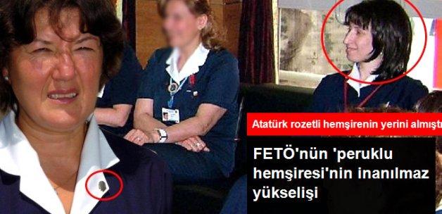 Atatürk Rozetli Hemşirenin Yerine Gelen Peruklu Hemşireye FETÖ Gözaltısı
