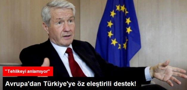 Avrupa'dan Türkiye'ye İlk Destek Mesajı