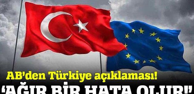 Avusturya'nın 'Türkiye' çağrısına AB'den cevap!