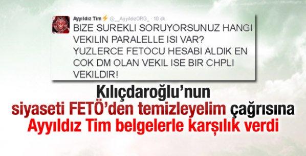 Ayyıldız Tim FETÖ'nün CHP bağlantısını deşifre etti