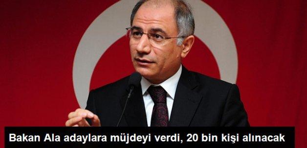 Bakan Ala: 20 Bin Polis Memuru Alınacak