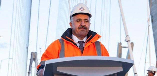 Bakan Arslan: 26 Ağustos'ta açılıyor