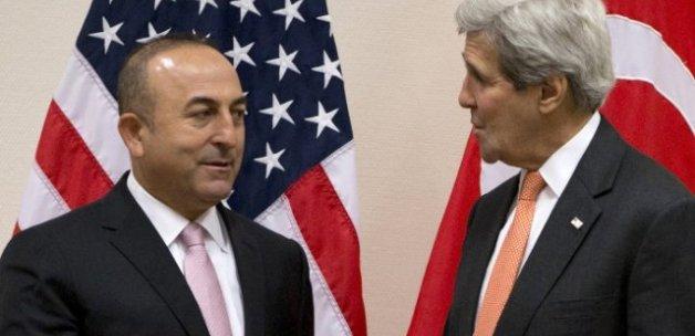 Bakan Çavuşoğlu, Kerry ile görüştü
