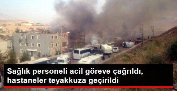 Bakanlık Cizre'de Sağlık Personelini Alarma Geçirdi! Çevredeki Hastaneler de Teyakkuzda
