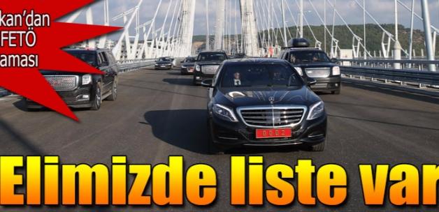 Başbakan Üçüncü Köprü'den geçti