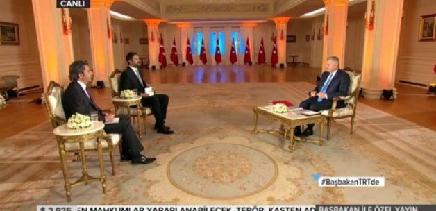 Başbakan Yıldırım'dan flaş MİT açıklaması