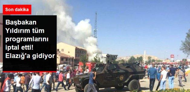 Başbakan Yıldırım Hain Saldırının Yapıldığı Elazığ'a Gidiyor!