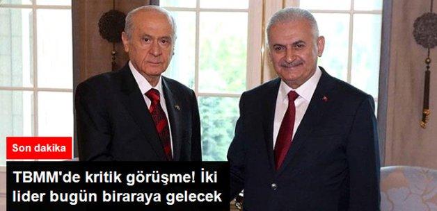 Başbakan Yıldırım MHP lideri Bahçeli İle Görüşecek.