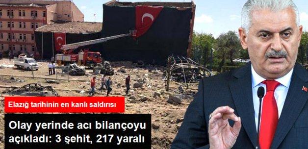 Başbakan Yıldırım Olay Yerinde Açıkladı: 3 Polisimiz Şehit, 217 Kişi Yaralı