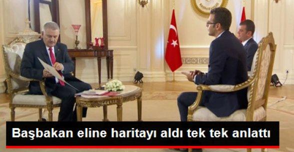 Başbakan: YPG Unsurları Fırat'ın Doğusuna Çekilinceye Kadar Operasyon Devam Edecek