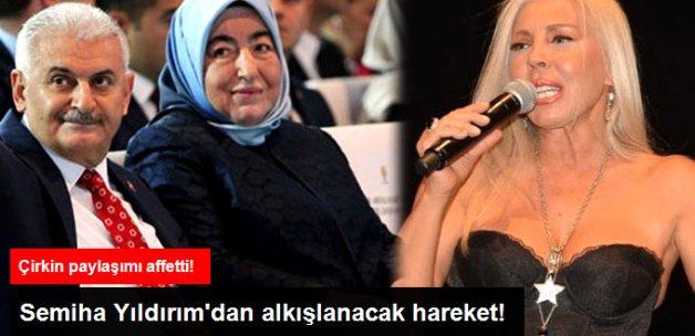 Başbakanın Eşi, Hakkında İğrenç Paylaşımda Bulunan Semiha Yankı'yı Affetti!