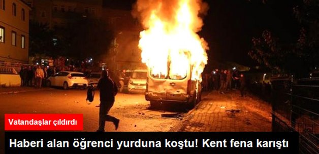Bayburt'ta PKK Gerginliği! Kent Fena Karıştı